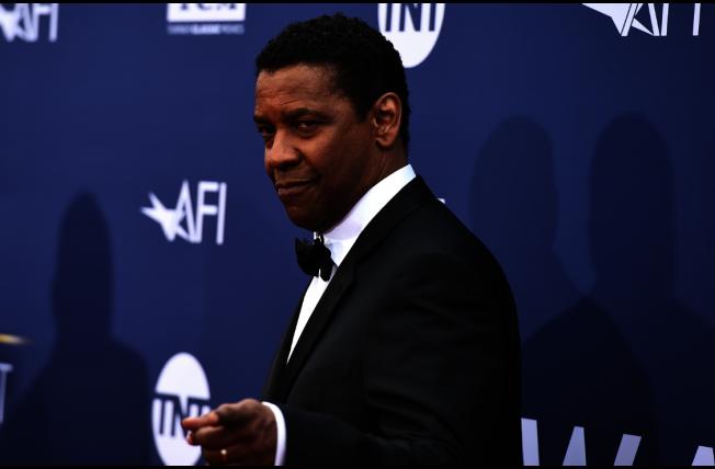 奧斯卡影帝丹佐華盛頓長年為黑人人權奔走,並演出「黑潮麥爾坎」等多部為黑人發聲的電影。(美聯社)