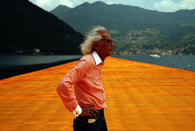 大型環境藝術聞名的保加利亞藝術家克里斯多31日在紐約自宅過世,享壽84歲。取自Instagram@christojeanneclaude