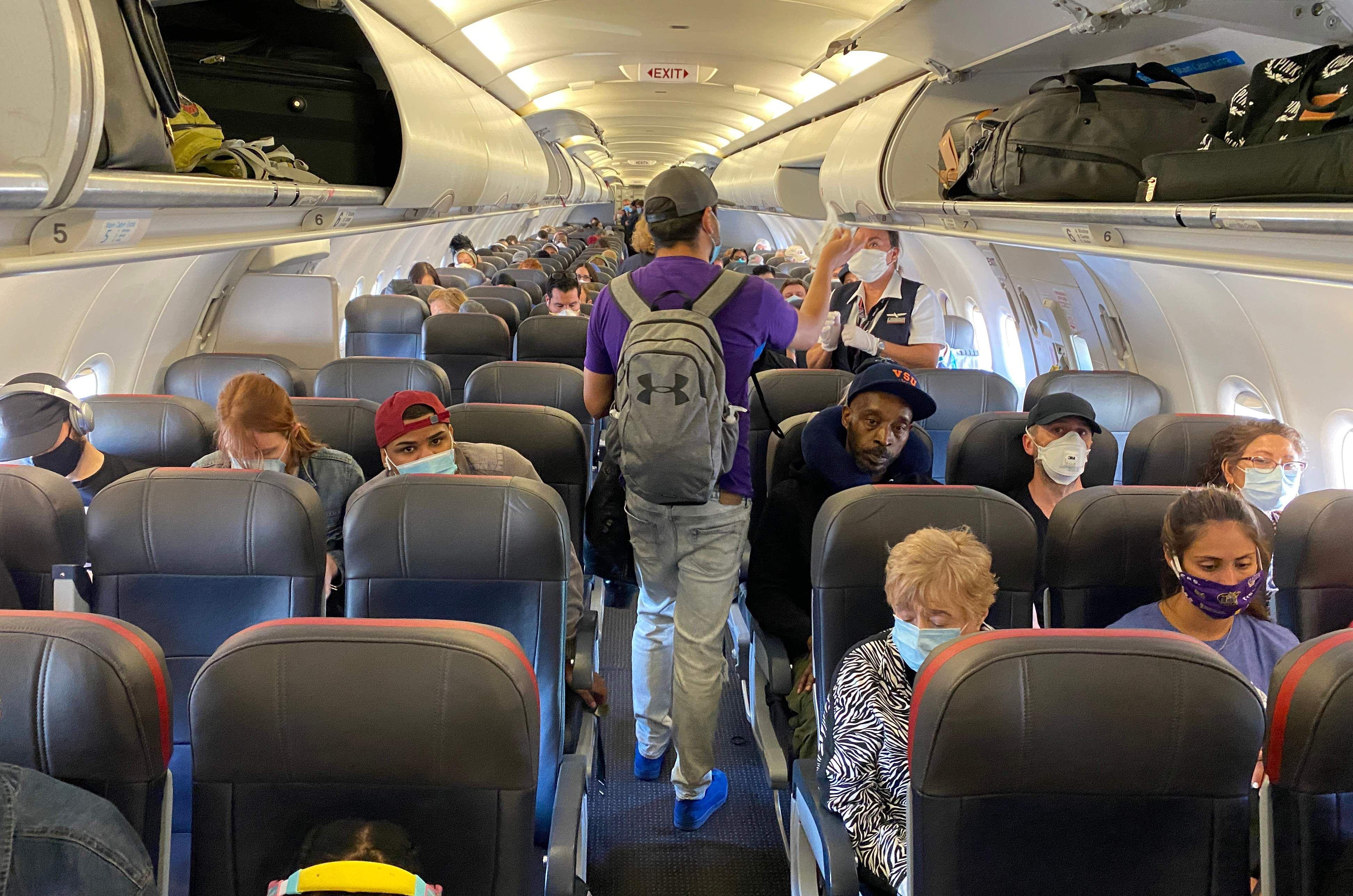 新冠疫情給航空業帶來重創。(Getty Image)