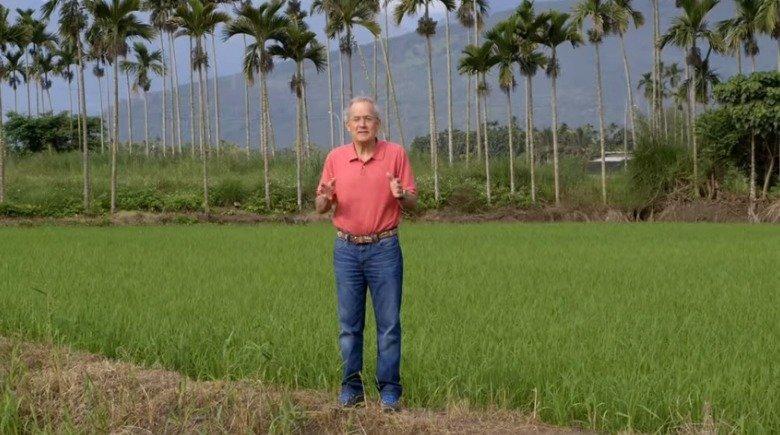 羅森度主持的美國公視旅遊節目以太魯閣為題,獲頒泰利獎。取材自YouTube