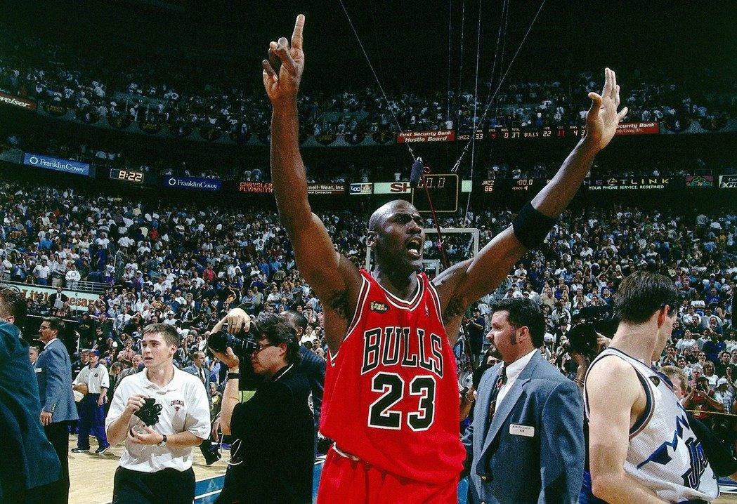喬丹的紀錄片《最後之舞》上映大受好評,同時提高Jordan Brand商品買氣。(Getty Images)
