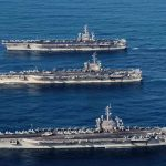 每艘搭載逾60架飛機!美3艘航艦同時巡太平洋 2017年來規模最大