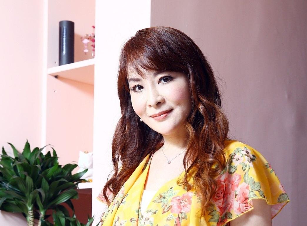 蔣萍歴經婚變,學會放下過去。記者杜建重/攝影