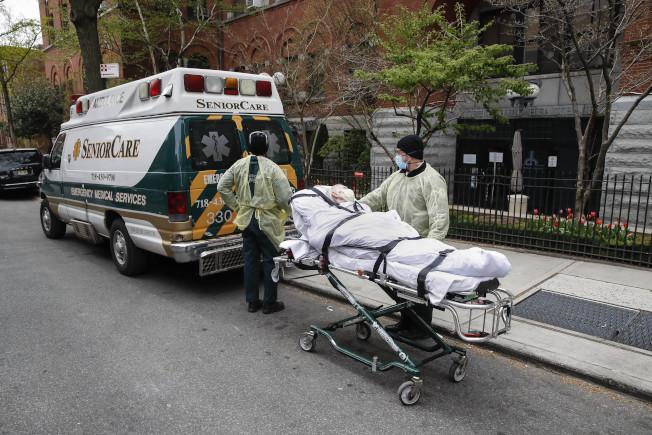 據分析,新冠死亡者多數來自養老院。(美聯社)