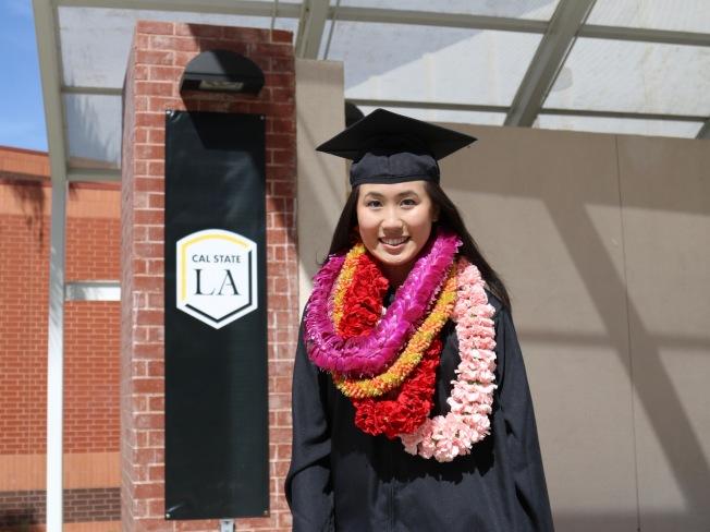 甘艾裕從洛杉磯州大畢業獲機械工程學士學位。(甘艾裕提供)