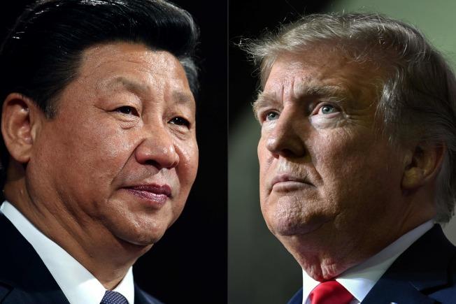 圖為中國國家主席習近平(左)和美國總統川普(右)。(Getty Images)