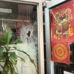 〈圖輯〉記者現場直擊 紐約華埠商家遭砸 貨物洗劫一空