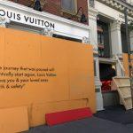 〈圖輯〉紐約一夜暴亂  SoHo奢侈品店遭搶損失慘重