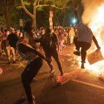 快看世界/一分鐘回顧全美周末示威升溫 多城遭搶掠