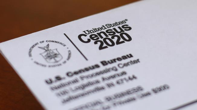 2020年人口普查原有受新冠疫耽誤之虞,普查局1日說,回復問卷的家戶數已達60.5%,符合預期目標。(美聯社)