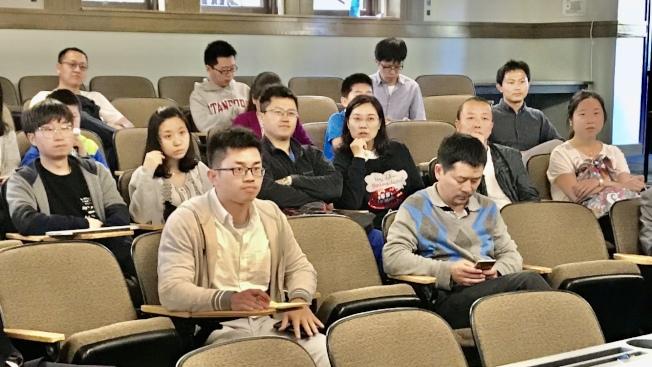 大量中國留學生在灣區各大高校課堂學習的景象,可能因總統川普的禁令而不復存在。(記者黃少華/攝影)