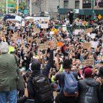 〈圖輯〉紐約曼哈頓萬人示威