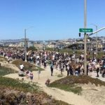 金山沿海公路千人大遊行 亞裔挺非裔