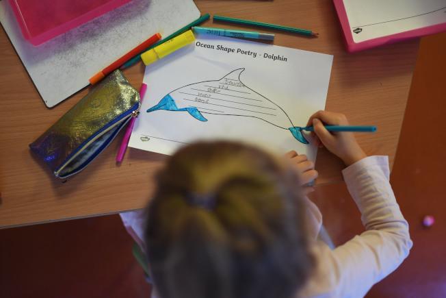 小兒科醫師兼流行病學家克里斯塔基斯表示,疫情期間居家避疫停止到校上課,可能影響兒童心理健康。(Getty Images)
