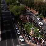 抗議活動出現反對者雙方對峙恐升級