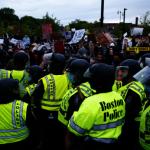 波士頓示威集會和平落幕 布洛克頓市爆發警民衝突