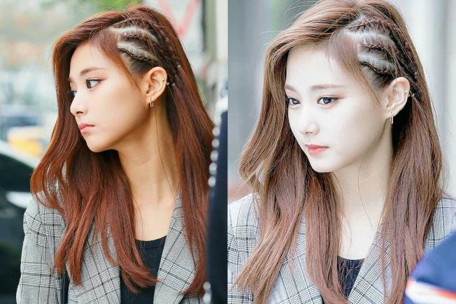 子瑜的長髮,也能有變化。圖/摘自IG