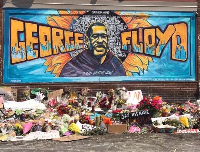 46歲的佛洛伊德遭警察執法過度死亡。本報檔案照片