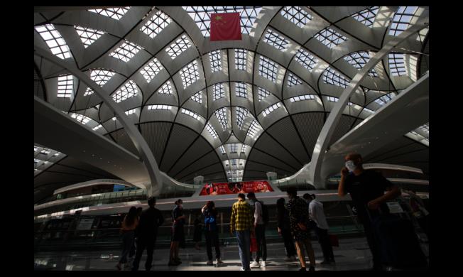 圖為北京大興國際機場。中新社