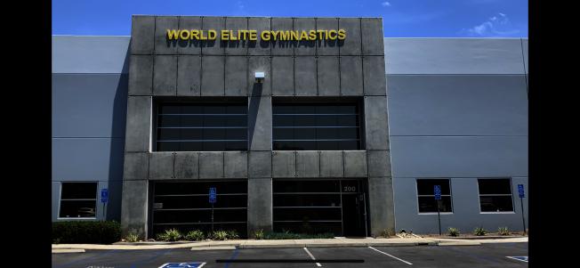 因為疫情影響,安大略華資世界精英體操俱樂部宣布停業。(記者啟鉻/攝影)
