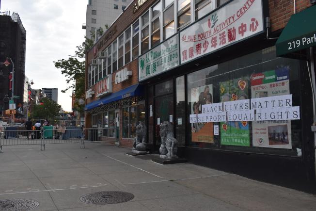 多個亞裔組織發表聲明,支持和平抗議和倡導並要求當局從根本改變。(記者顏嘉瑩/攝影)