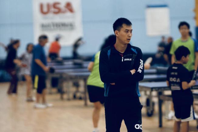 王晴亮希望越來越多的人能享受打乒乓球的樂趣。(圖:王晴亮提供)