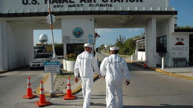 西礁島海軍基地。(U.S. Navy)