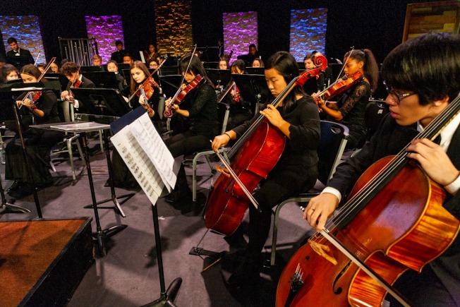 圖為佛羅里達交響樂團青年樂團。(取材自臉書官網)