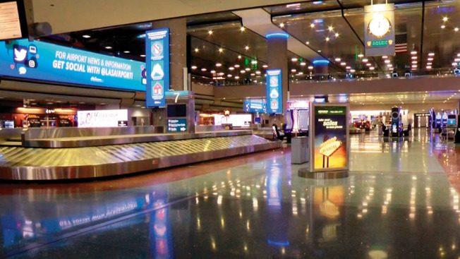 賭城麥克倫機場 4月乘客史上最少