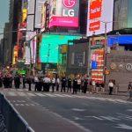 紐約昨夜示威市警僅逮捕40人 比前一日下降85%