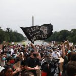抗議8天以來最大規模 華府「百萬人」集會要公義