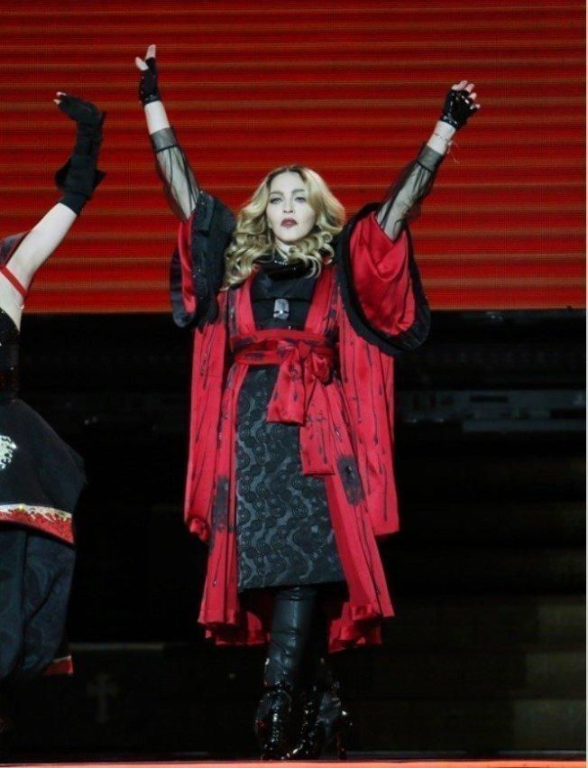 玛丹娜走红乐坛多年,一直积极参与社会运动。图/本报系资料照片