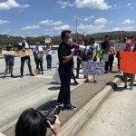 西柯汶納等城市居民合辦抗議遊行參與者不如預期