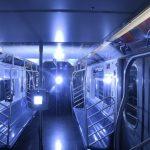 迎復工 MTA試用紫外線及光氫離子消毒車廂