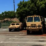 穿過兩道封鎖線 帶你看國民兵臨時駐地