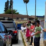 疫情影響 小學「得來速」慶學期結束