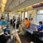 地鐵乘客增多 MTA:8%未戴口罩