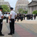 紐約昨日今晨示威 市警「零逮捕」