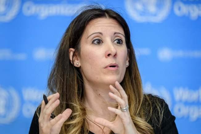 世衛組織疾病學專家范科霍芙。(Getty Images)