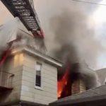 紐約市皇后區住宅區清晨著火  多名亞裔受傷