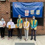 捐贈大量口罩 紐約佛光人援助醫療前線人員