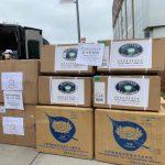 慈濟紐約分會跨國合作防護物資 捐NYPQ醫護人員隔離衣