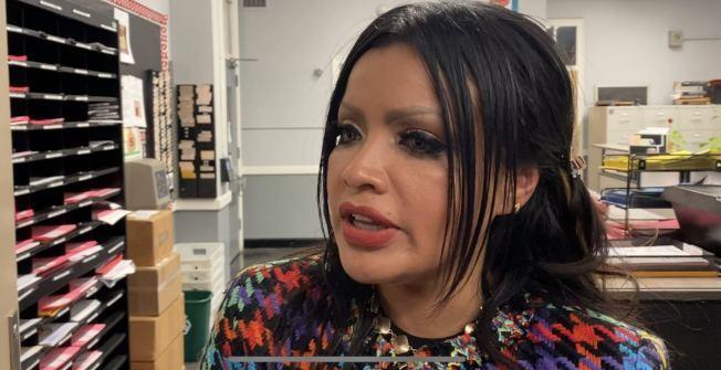 絲塔琳不滿學校不懲戒霸凌女兒的學生,向市府求償1000萬元。(記者牟蘭/攝影)