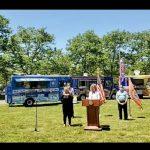 紐約長島納蘇郡周末重開公園遊樂場、海灘露營