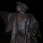 休士頓哥倫布雕像再遭破壞 左手被砍斷