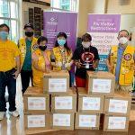 亚特兰大广东同乡会+华人狮子会+Farmer's Basket疫情中携手再次爱心疫情捐赠医疗物资