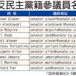【抵制ACA5】華人致函參議員