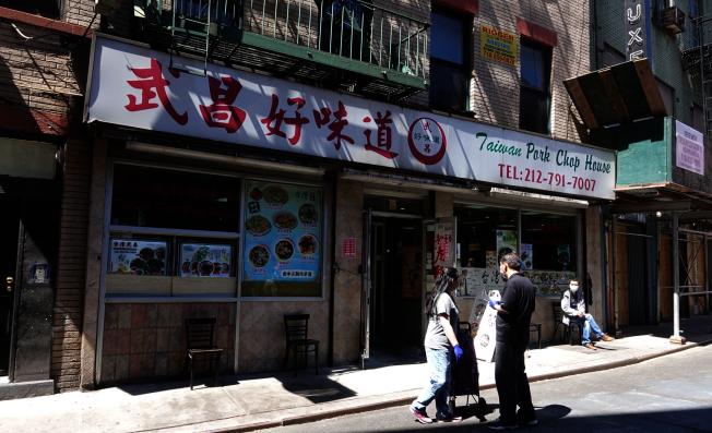 22日起紐約市餐館可推行戶外就餐。(記者金春香 / 攝影)