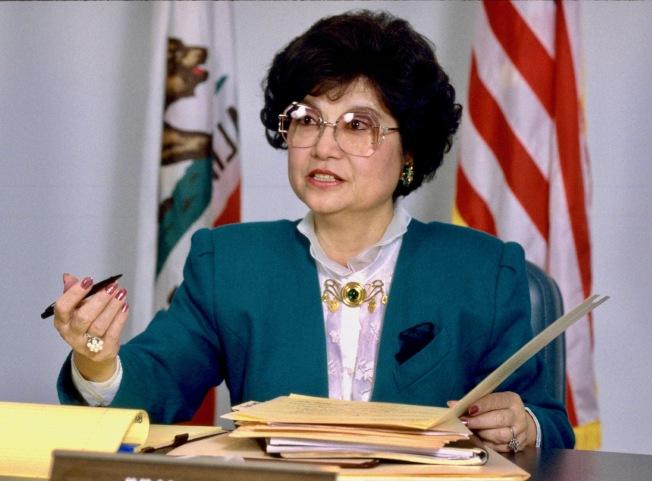 吳黎耀華痛批ACA-5修憲案不是要平權而是爭特權。(本報檔案照)
