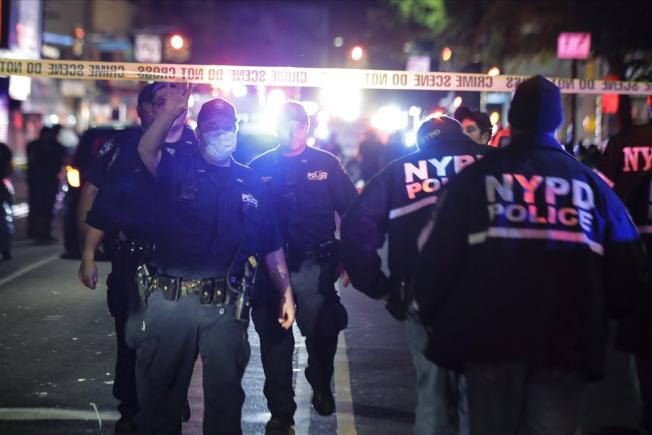 紐約市6月以來槍擊案頻發。(美聯社)